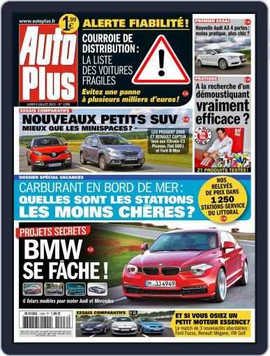 Auto Plus France July 7th, 2013 Digital Back Issue Cover