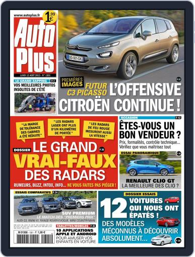 Auto Plus France (Digital) August 11th, 2013 Issue Cover