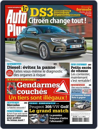 Auto Plus France (Digital) October 6th, 2013 Issue Cover