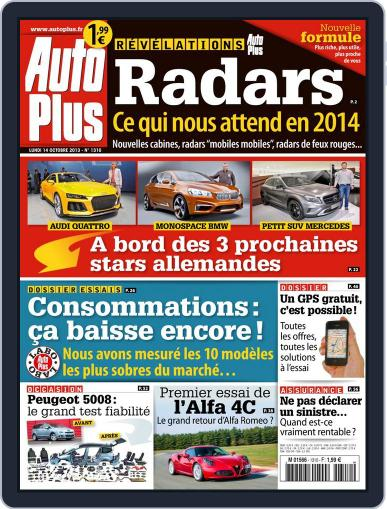 Auto Plus France (Digital) October 13th, 2013 Issue Cover