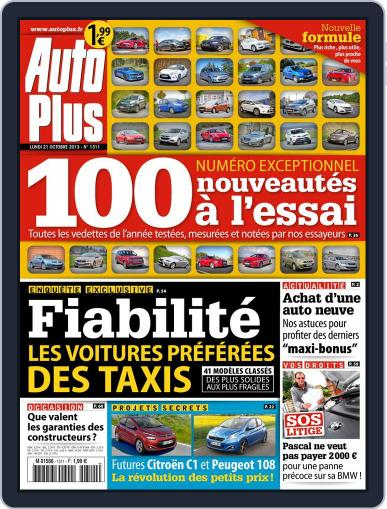 Auto Plus France (Digital) October 20th, 2013 Issue Cover