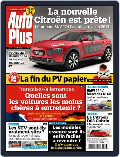 Auto Plus France (Digital) November 3rd, 2013 Issue Cover