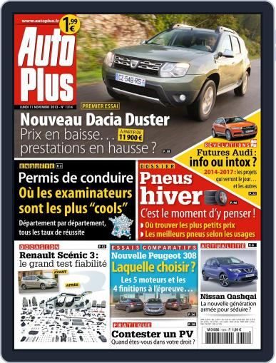 Auto Plus France (Digital) November 10th, 2013 Issue Cover