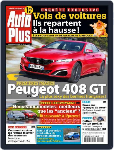Auto Plus France November 17th, 2013 Digital Back Issue Cover