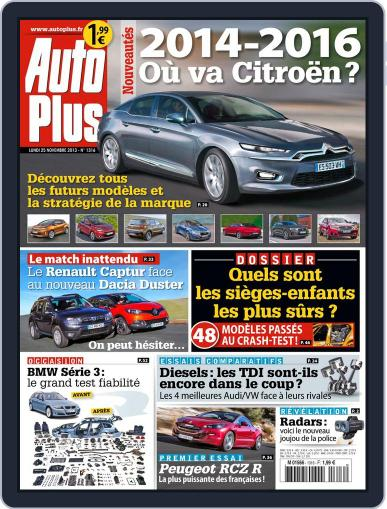 Auto Plus France (Digital) November 24th, 2013 Issue Cover
