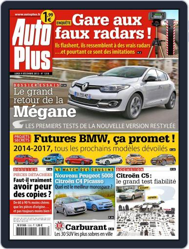 Auto Plus France December 8th, 2013 Digital Back Issue Cover