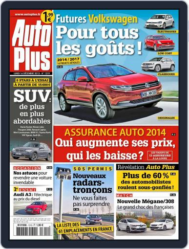 Auto Plus France (Digital) December 15th, 2013 Issue Cover