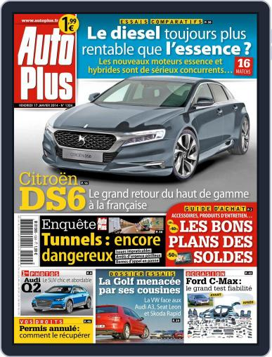 Auto Plus France January 19th, 2014 Digital Back Issue Cover