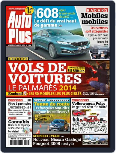 Auto Plus France January 31st, 2014 Digital Back Issue Cover