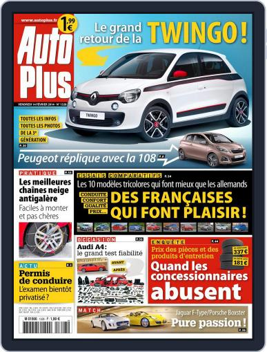 Auto Plus France (Digital) February 14th, 2014 Issue Cover