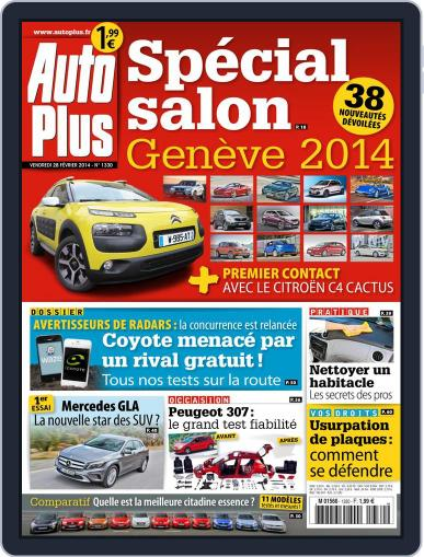 Auto Plus France (Digital) February 27th, 2014 Issue Cover
