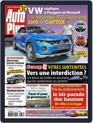 Auto Plus France March 1st, 2014 Digital Back Issue Cover