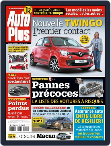Auto Plus France (Digital) March 6th, 2014 Issue Cover