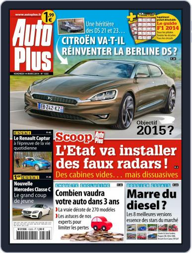 Auto Plus France March 13th, 2014 Digital Back Issue Cover