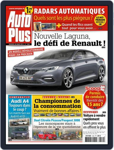 Auto Plus France March 27th, 2014 Digital Back Issue Cover
