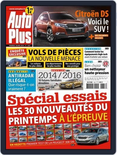 Auto Plus France (Digital) April 17th, 2014 Issue Cover