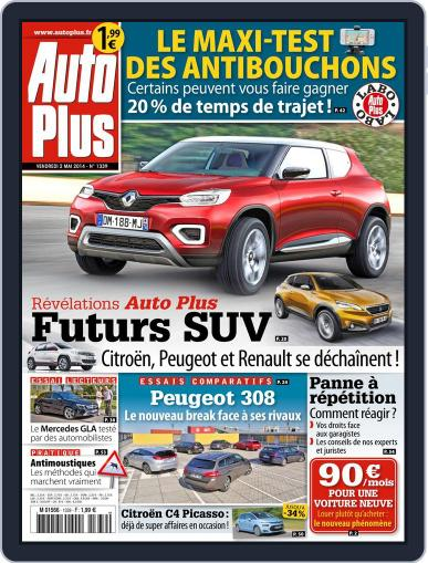 Auto Plus France (Digital) May 1st, 2014 Issue Cover