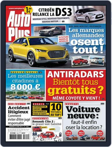 Auto Plus France (Digital) May 23rd, 2014 Issue Cover