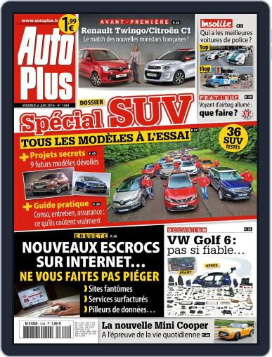 Auto Plus France (Digital) June 6th, 2014 Issue Cover