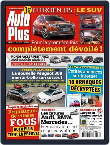 Auto Plus France (Digital) July 11th, 2014 Issue Cover