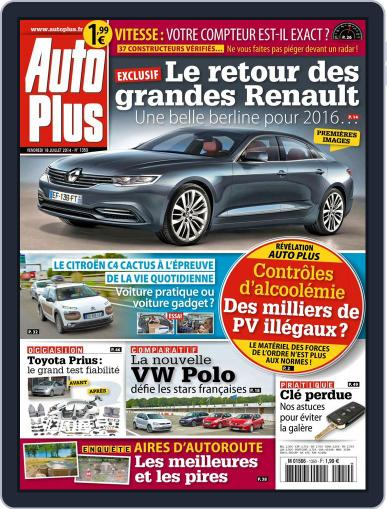 Auto Plus France July 18th, 2014 Digital Back Issue Cover