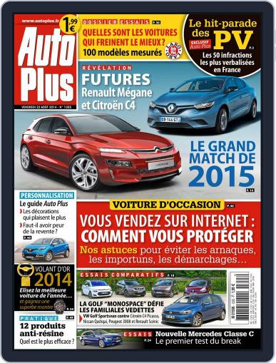 Auto Plus France (Digital) August 22nd, 2014 Issue Cover