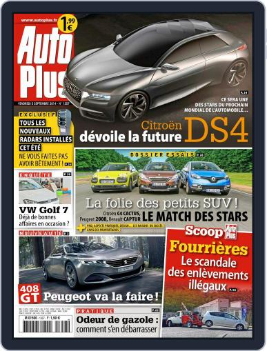 Auto Plus France (Digital) September 8th, 2014 Issue Cover