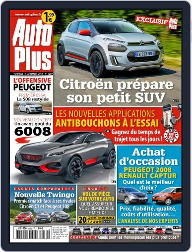 Auto Plus France (Digital) September 19th, 2014 Issue Cover