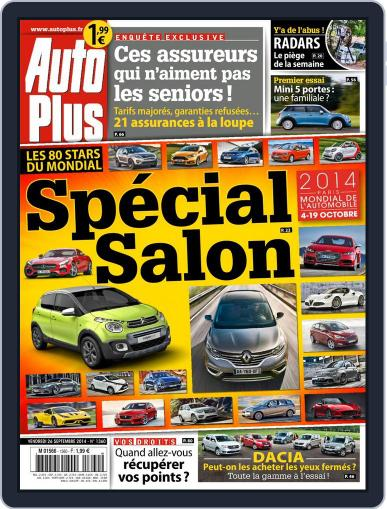 Auto Plus France (Digital) September 26th, 2014 Issue Cover