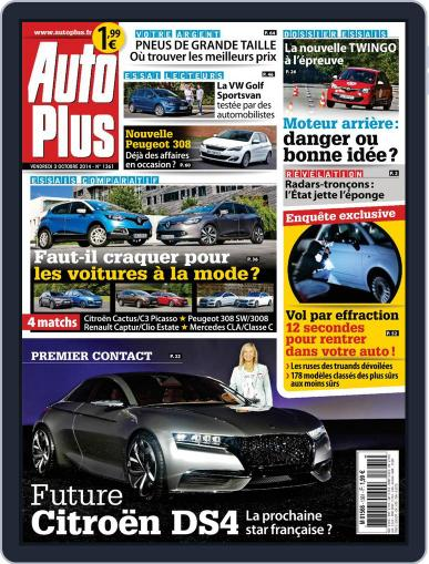 Auto Plus France (Digital) October 3rd, 2014 Issue Cover