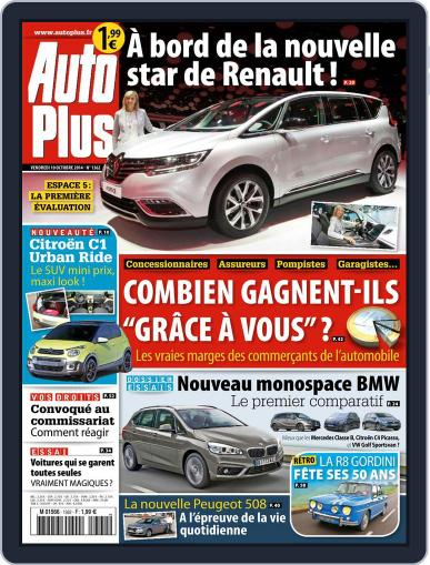 Auto Plus France (Digital) October 10th, 2014 Issue Cover