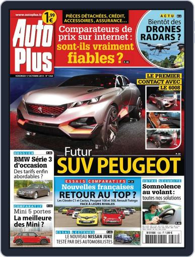 Auto Plus France October 17th, 2014 Digital Back Issue Cover