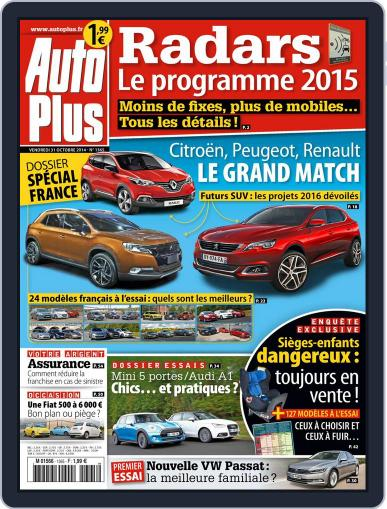 Auto Plus France (Digital) November 3rd, 2014 Issue Cover