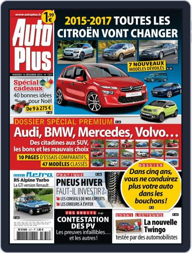 Auto Plus France (Digital) December 11th, 2014 Issue Cover