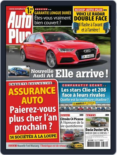Auto Plus France (Digital) December 18th, 2014 Issue Cover