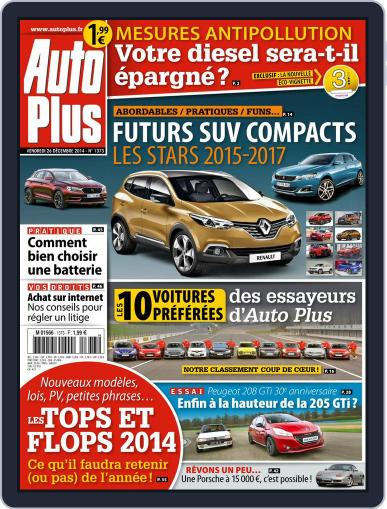 Auto Plus France (Digital) December 29th, 2014 Issue Cover