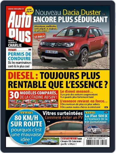 Auto Plus France January 15th, 2015 Digital Back Issue Cover