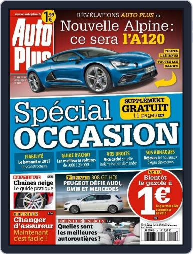 Auto Plus France January 22nd, 2015 Digital Back Issue Cover