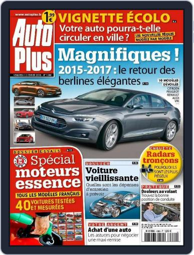 Auto Plus France (Digital) February 12th, 2015 Issue Cover