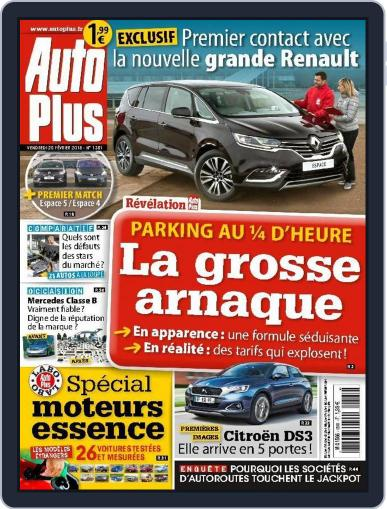 Auto Plus France February 19th, 2015 Digital Back Issue Cover
