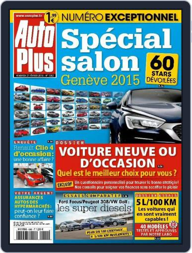 Auto Plus France February 26th, 2015 Digital Back Issue Cover