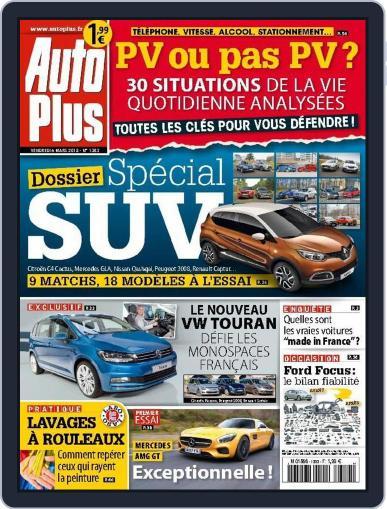 Auto Plus France March 5th, 2015 Digital Back Issue Cover