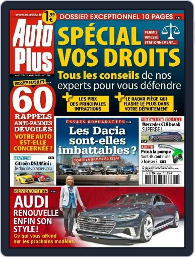 Auto Plus France March 26th, 2015 Digital Back Issue Cover