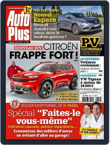 Auto Plus France (Digital) April 9th, 2015 Issue Cover