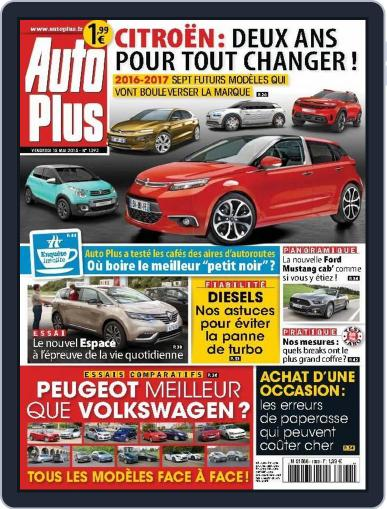 Auto Plus France (Digital) May 14th, 2015 Issue Cover