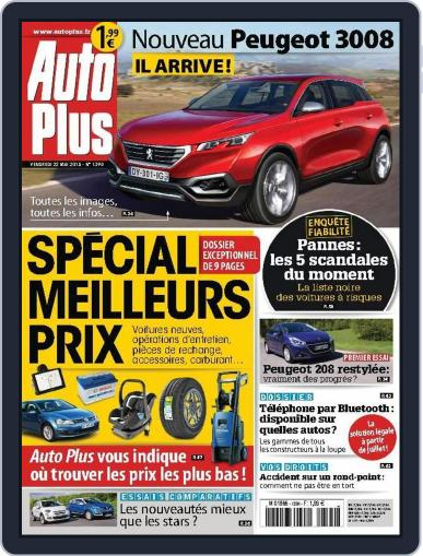 Auto Plus France (Digital) May 21st, 2015 Issue Cover