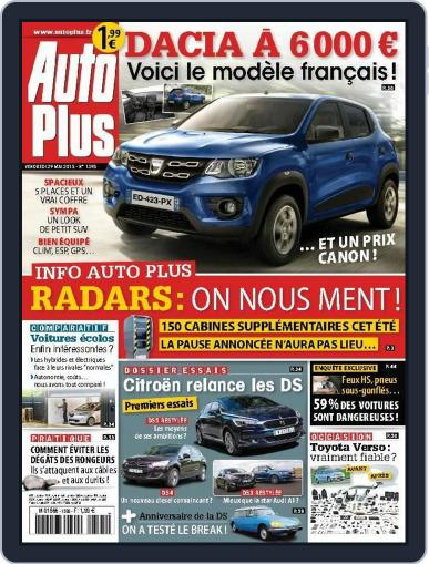 Auto Plus France (Digital) May 28th, 2015 Issue Cover