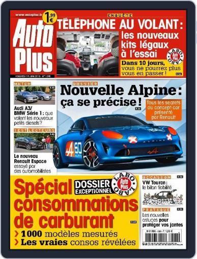 Auto Plus France (Digital) June 18th, 2015 Issue Cover