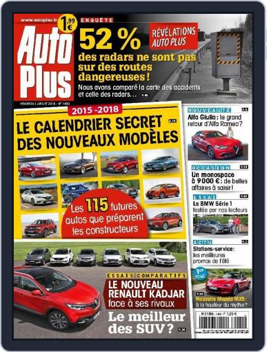 Auto Plus France (Digital) July 2nd, 2015 Issue Cover