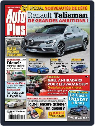 Auto Plus France (Digital) July 9th, 2015 Issue Cover